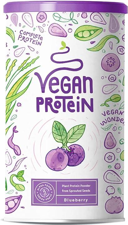 Proteine vegane | mirtillo - 600 grammi AF-118