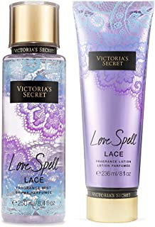 Victoria's Secret Love Spell Lace Mist and Lotion Set