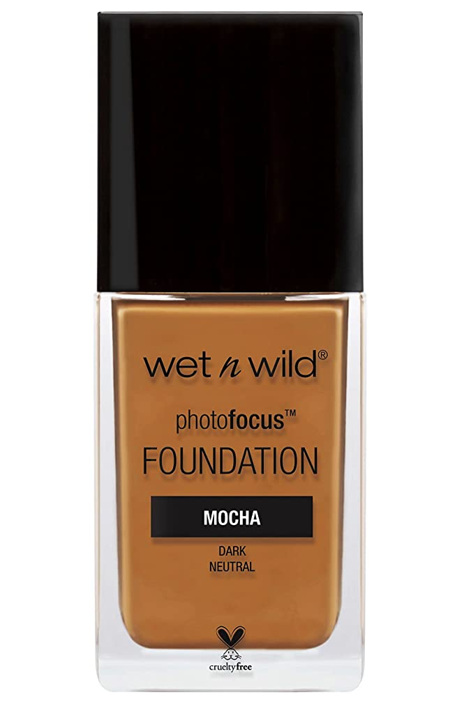 因子常識回転WET N WILD Photo Focus Foundation - Mocha (並行輸入品)