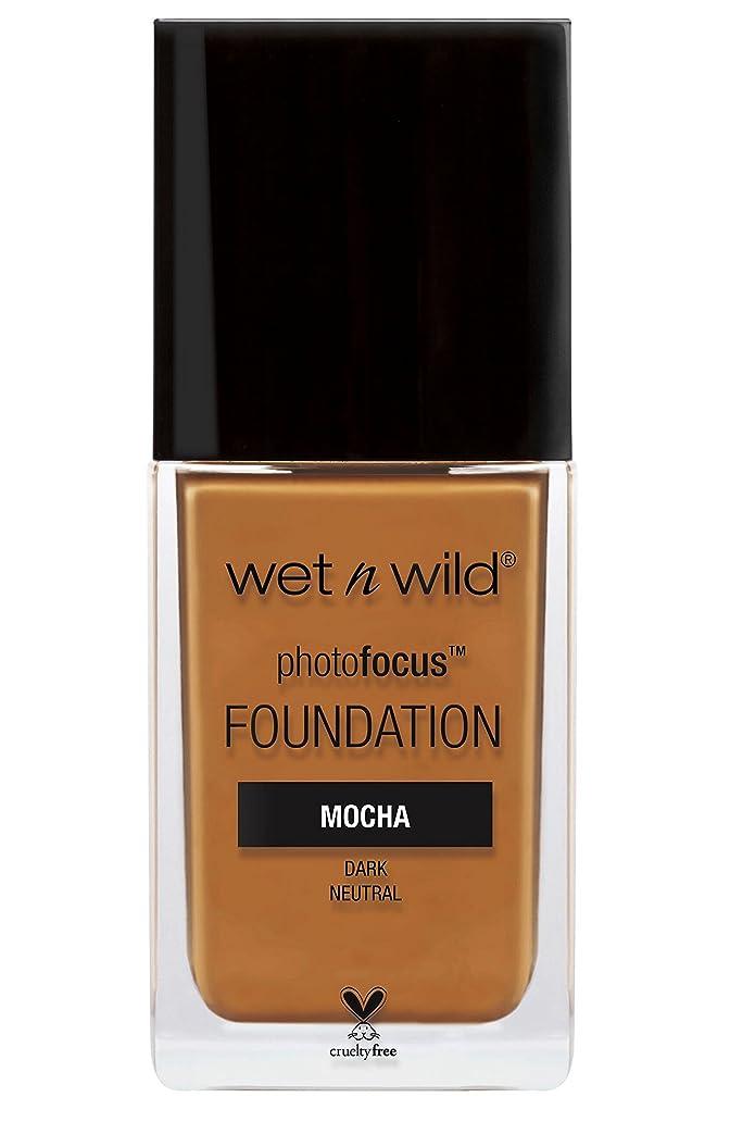 バーター優雅な広告主WET N WILD Photo Focus Foundation - Mocha (並行輸入品)