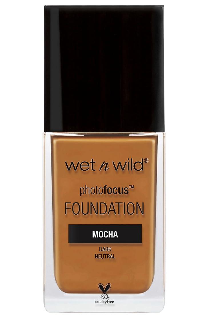 反対うん趣味WET N WILD Photo Focus Foundation - Mocha (並行輸入品)