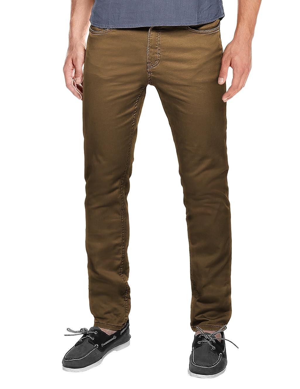 Match Men's Straight-Fit Flat-Front Work Pants