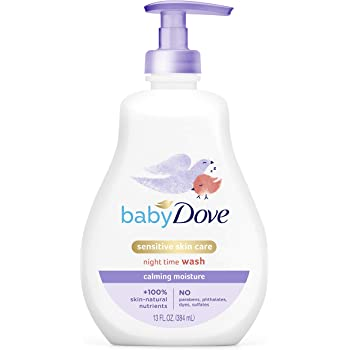 Baby Dove Tip to Toe Wash and Shampoo Calming Nights Washes Away Bacteria While Nourishing Your Skin 13 oz