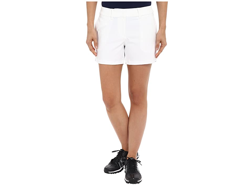 Nike Golf Tournament Shorts (White/White) Women