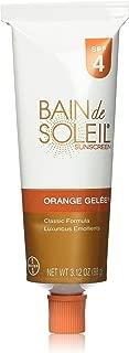 Bain De Soleil Spf#4 Orange Gelee 3.12 Ounce (92.3ml) (3 Pack)