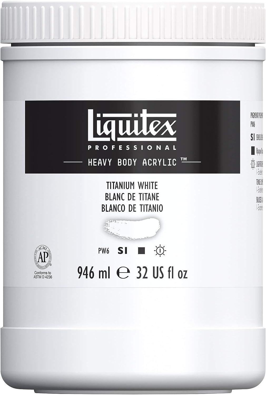 Liquitex Professional Heavy Body Acrylic Titan Paint Pot Popular product gift 32-oz