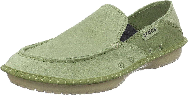 Crocs Men's Crocadise Suede Loafer