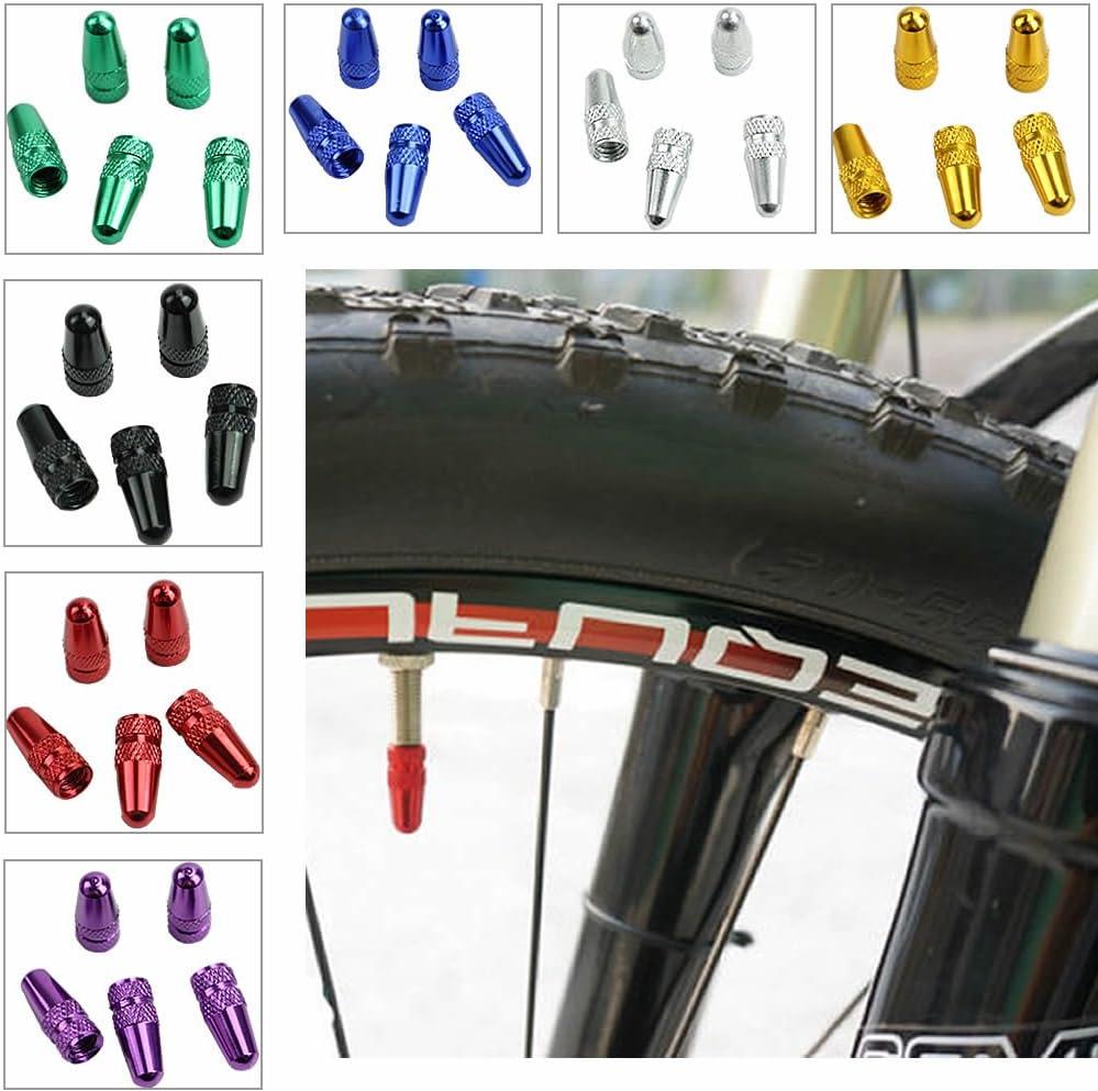 5x Bike Bicycle Fixie Presta Wheel Rim Tyre Stem Air Valve Cap Dust Cover JYFLY