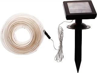 GreenLighting 32' Solar Power Christmas Rope Lights w/ 100 LED's (Warm White)