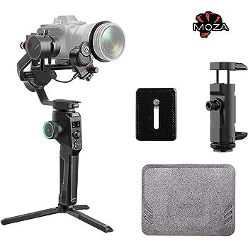 MOZA Aircross2 Pro kit カメラ スタビライザー 3軸ジンバル 8つフォローモード iFocus-M付き Arca Swissクイックリリースプレート付き スマホホルダー付き 一眼レフ ミラーレスカメラ対応 SONY CANON Nikon Olympusなど対応 縦撮り 【MOZA正規品&1年保証】 (Professional kit)