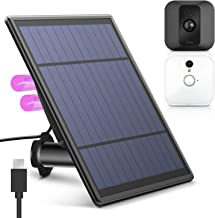 KASMOTION [Upgraded Version Solar Panel for Blink XT XT 2 Security Camera, Wall Mount Outdoor Weather Proof Solar Power Charging Panel for Blink XT XT 2 Home Security Camera System