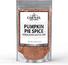 Keto Collection - Pumpkin Pie Himalayan Pink Salt Blend - Cinnamon, Nutmeg, Ginger, Allspice - 5 Ounce Pouch - by Caravel Gourmet