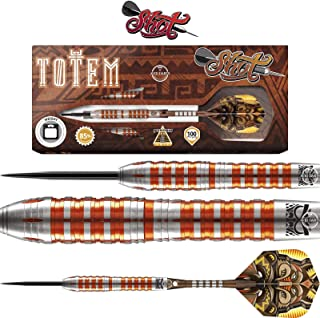 Shot! Darts Totem 3 Steel Tip Dart Set-Front Weighted-85% Tungsten Barrels