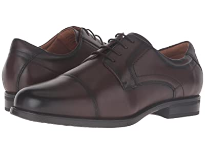 Florsheim Midtown Cap Toe Oxford (Brown Smooth) Men