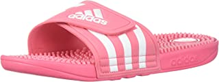 adidas slides pink and black