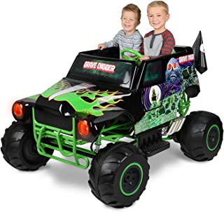 Monster Jam Grave Digger 24-Volt Battery Powered Ride-On Car Outside Toys