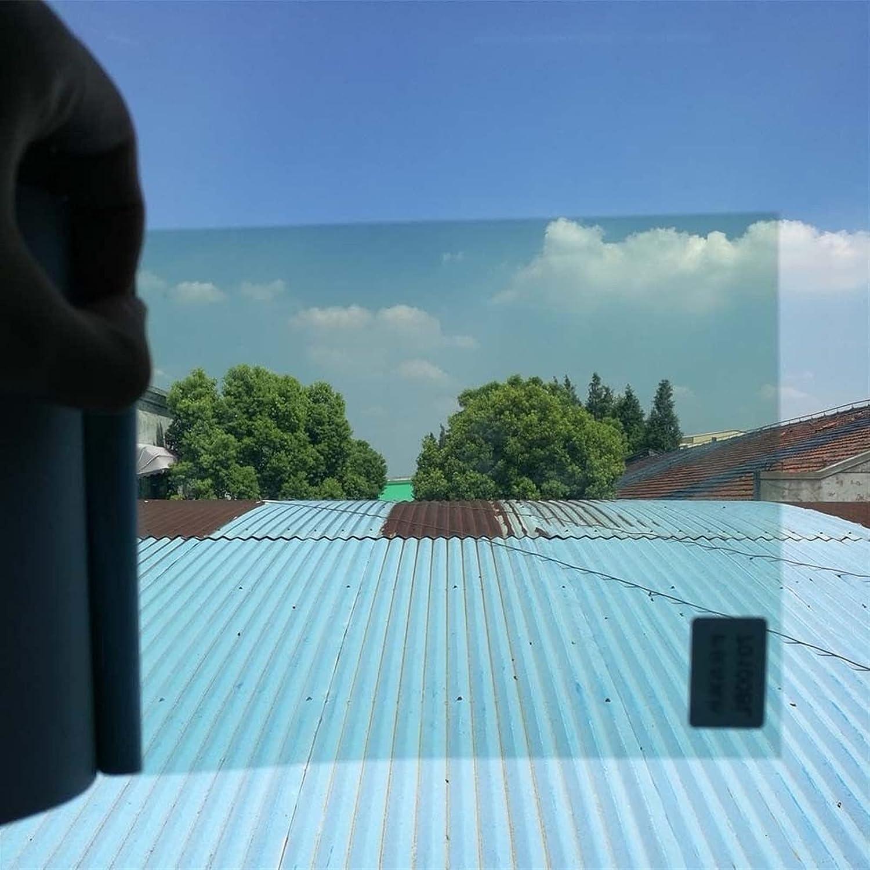 RONGSHU VLT 70/% Light Blue Car Window Tint Tinting Film Fit For Car Window Glass Solar Protection Film Car Window Foils 50x200cm Size : 50cm x 200cm