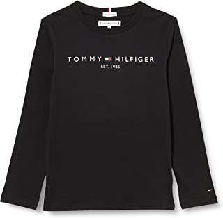 Tommy Hilfiger Essential Tee L/S T-Shirt Mixte Enfant
