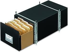Bankers Box 00512 STAXONSTEEL Storage Box Drawer, Legal, Steel Frame, Black (Case of 6)