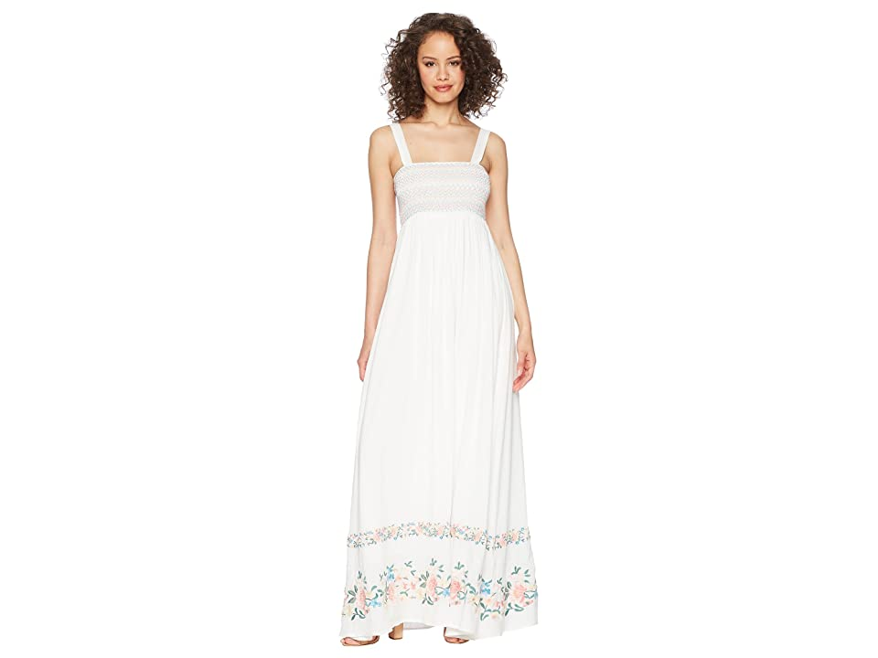 2878fcd4b906 Show Me Your Mumu Eliana Maxi Dress (Once Upon A Flower Embroidery) Women