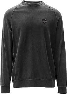 Levelwear LEY9R NHL Los Angeles Kings Adult Men Jasper Crew Legacy Jock Tab Shirt, XX-Large, Charcoal