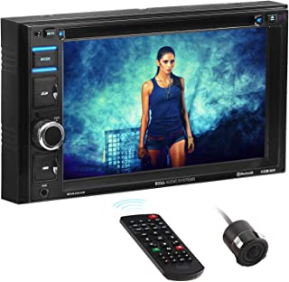 BOSS Audio Systems BVB9364RC Car DVD Player - Double Din, Bluetooth Audio and Hands-Free Calling, 6.2 Inch Touchscreen LCD...