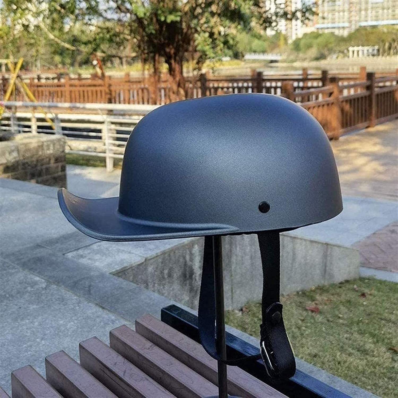 GYPPG Motorcycle Half Helmet Cap Long-awaited Helm Open-Face Motorbike Superior Adults