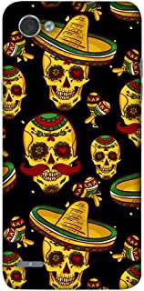 NalamiCases Mexican Skull Ringo Hard Printed Designer Case for LG Q6 Plus M700N, M700A, M700DSK, M700AN Back Cover DNL1892
