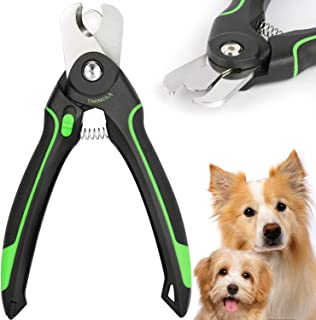 TIMINGILA Dog Nail Clippers,Dog & Cat Pets Nail Clippers and Trimmer with Built-in Safety Guard to Avoid Over-Cutting Nail...