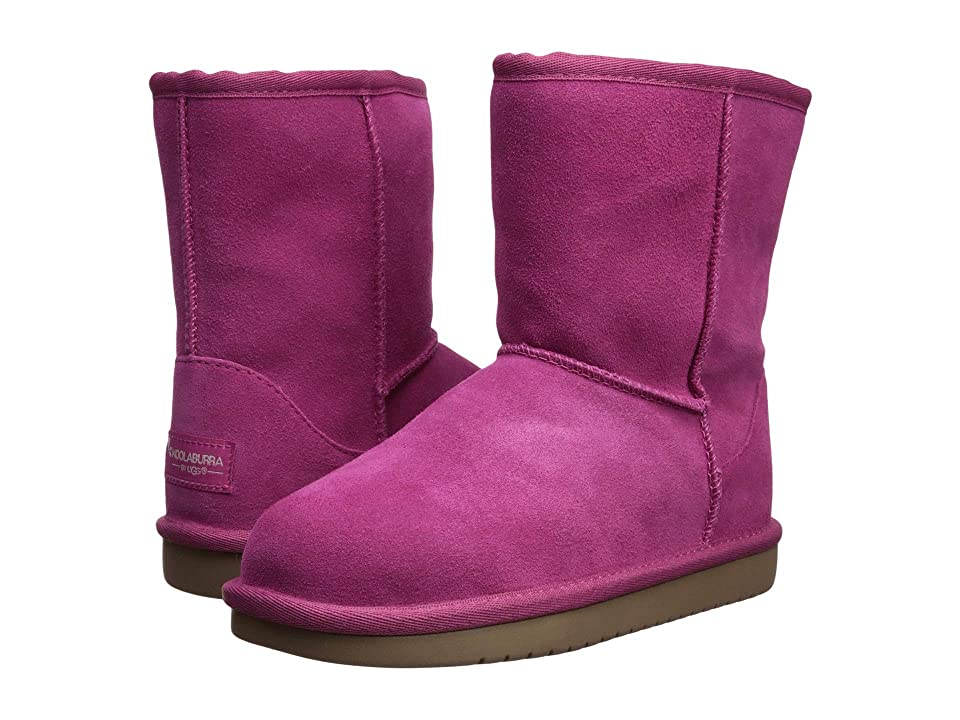 Koolaburra by UGG Koola Short (Little Kid/Big Kid) (Raspberry Rose) Women's Shoes