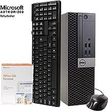 $629 » Dell 7040 Desktop Computer PC, Intel i5-6500 3.2GHz, 16GB DDR4 RAM, 512GB SSD, Windows 10 Pro, Microsoft Office 365 Personal, New 16GB Flash Drive, DVD-RW, Keyboard, Mouse, WiFi, Bluetooth (Renewed)