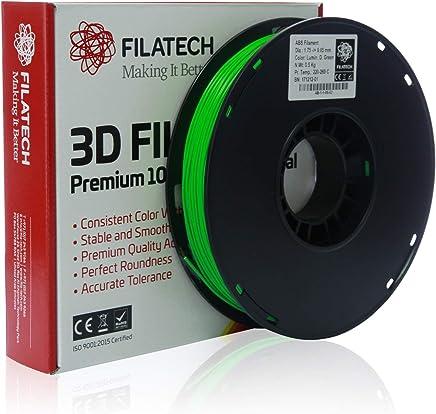 Filatech ABS Filament, Lum. D. Green, 1.75mm, 0.5KG