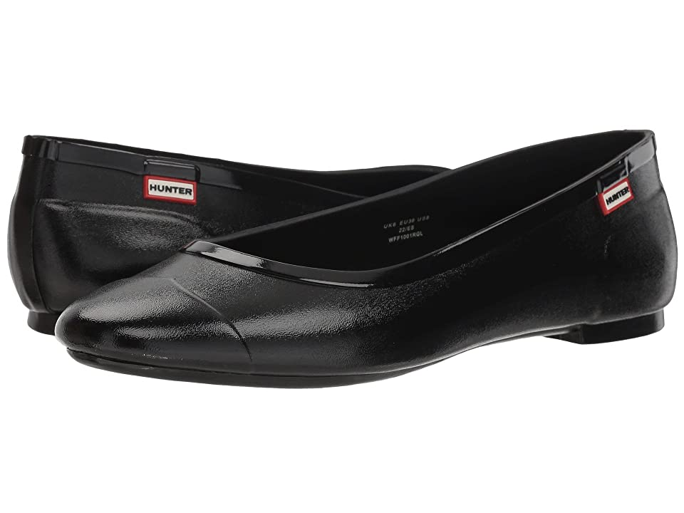 Hunter Original Tour Ballerina Gloss (Black) Women