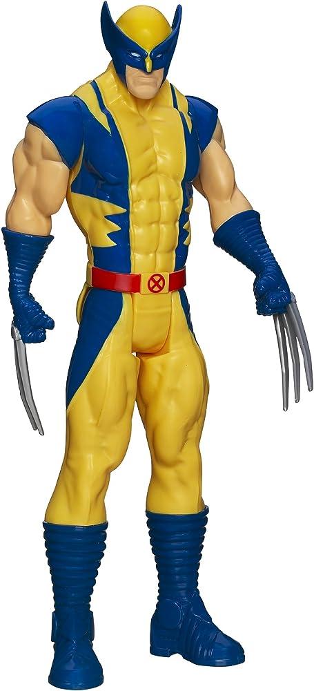 Statua hasbro di 30 cm del personaggio marvel titan hero wolverine – x-men avengers A3321000