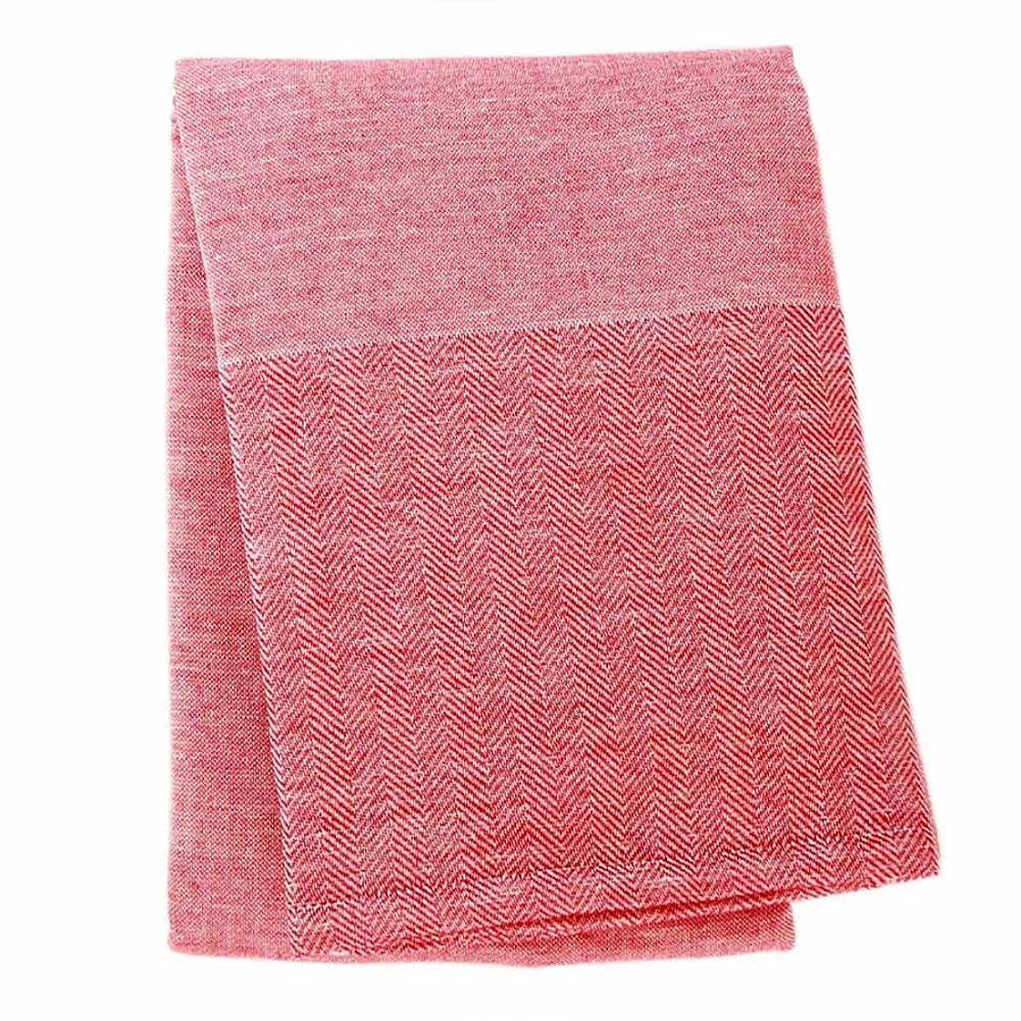 今治タオル バスタオル umi -towel of sea- (レッド)