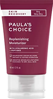 Paula's Choice Skin Recovery Replenishing Moisturizer Cream For Redness Facial Moisturizer Soothes Rosacea, Wrinkles And Uneven Skin Tone12 oz. Tube