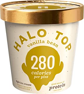 halo top vanilla bean calories