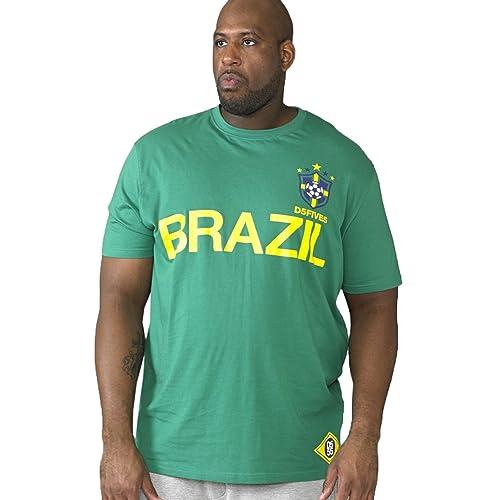 90d48be5 Duke D555 Mens England Foster Or Leon Or Brazil Silva Or Ricardo World Cup  Football T