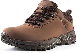 Wantdo Waterproof Men's Hiking Shoes Low Cut Hiking Boots Outdoor Hiking Trekking Backpacking