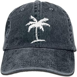 Sports Denim Cap Palm Tree Unisex Snapback Caps Adjustable Baseball Cap