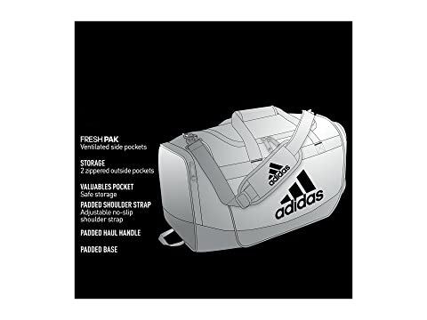 Negro Small Defender Duffel III Blanco Adidas dIqwpEtq