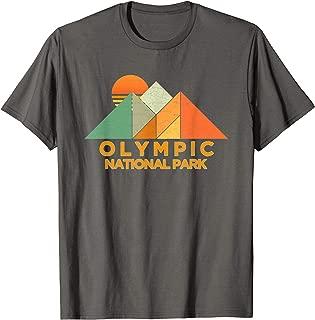 Retro Vintage Olympic Shirt National Park Tee Shirt