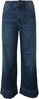 ATELIER CIGALA'S Jeans Donna Denim 15-167 Palazzo Crop VAR 7Y Made in Italy