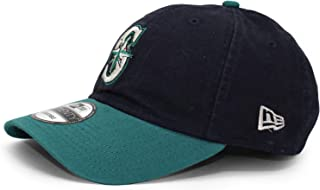 brand new 8d9ff 17c7a Seattle Mariners New Era Alternate Replica Core Classic 9TWENTY Adjustable  Hat Navy Aqua