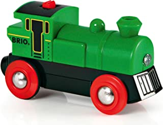 BRIO World - 33595 Battery Powered Engine Train | Toy Train for Kids Ages 3 and Up