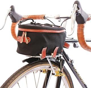 Zimbale Bicycle Waterproof Canvas Front Rackbag - 2 Liter Capacity Black