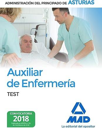 Auxiliar de Enfermería de la Administración del Principado de Asturias. Test