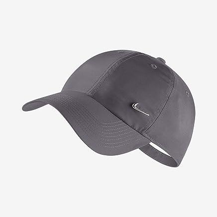 7bceae22d71c5 Nike U NK H86 Cap Metal Swoosh Chapeau Mixte Adulte, Gris (Dark Grey/