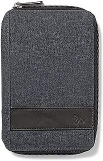 Eddie Bauer Unisex-Adult Travelon RFID Passport Holder, Gray Regular ONESZE