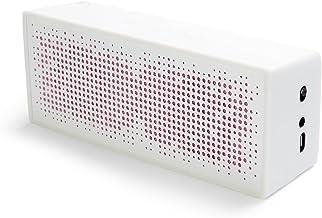 a.m.p SP1 Portable Bluetooth Speaker, White photo